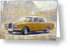 1973 Rolls-royce Silver Shadow Greeting Card