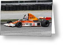 1976 Mclaren M23 F1 At Road America Greeting Card