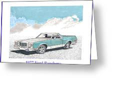 1977 Ford Ranchero Greeting Card