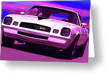 1978 Chevy Camaro Z28 Greeting Card