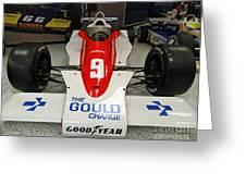 1979 Indy 500 Winning Car Of Rick Mears Greeting Card
