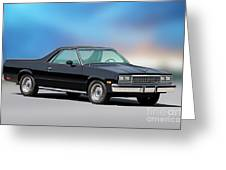 1983 Chevrolet El Camino 2 Greeting Card