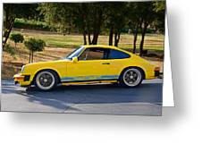 1983 Porsche Haut 911 Greeting Card