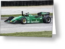 1983 Tyrrell 011 F1 At Road America Greeting Card