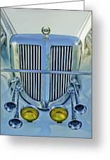 1985 Tiffany Coupe Grille Greeting Card