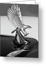1986 Zimmer Golden Spirit Hood Ornament 3 Greeting Card by Jill Reger