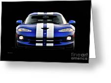 1995 Dodge Viper Coupe II Greeting Card