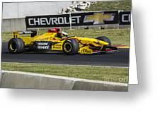 1997 Jordan 197 F1 At Road America Greeting Card