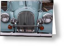 1998 Morgan Plus 8 Greeting Card