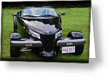 1999 Plymouth Prowler Greeting Card