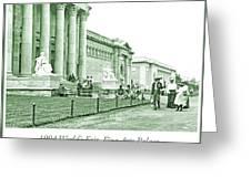 1904 World's Fair, Fine Arts Palace Greeting Card