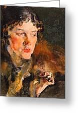 1920- Nikolay Feshin Greeting Card