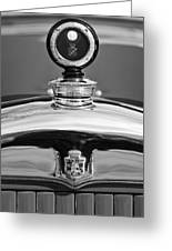 1926 Cadillac Series 314 Custom Hood Ornament Greeting Card
