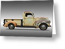 1946 Ford Pickup Truck Greeting Card