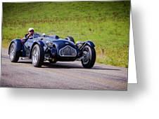 1950 Allard J2 Roadster Greeting Card