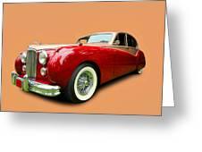 1953 Jaguar M K V II Greeting Card
