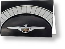 1958 Chrysler Imperial Emblem Greeting Card
