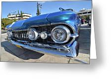 1959 Oldsmobile Dynamic 88 Greeting Card