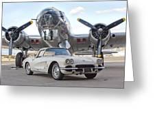 1962 Chevrolet Corvette Greeting Card