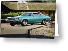 1968 Chevelle Malibu I Greeting Card