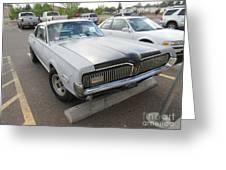 1968 Mercury Cougar Xr7 Greeting Card