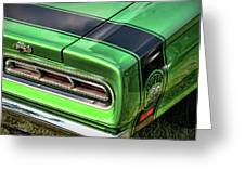 1969 Dodge Coronet Super Bee Greeting Card
