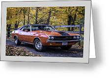1970 Dodge Challenger Rt  Greeting Card