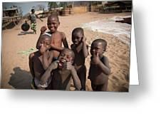 Africa's Children Greeting Card