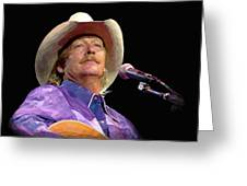 Alan Jackson Greeting Card