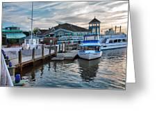 Alexandria Waterfront I Greeting Card