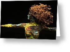 Alight A Sculpture By Adam Long Greeting Card