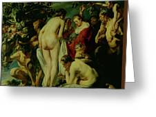 Allegory Of Fertility Greeting Card