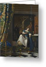 Allegory Of The Catholic Faith Greeting Card
