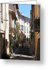 Alley - Provence Greeting Card
