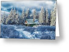 Alpine Hideaway Greeting Card