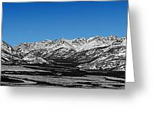 Anaktuvuk Pass Alaska Greeting Card