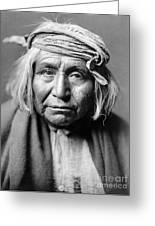 Apache Man, C1906 Greeting Card
