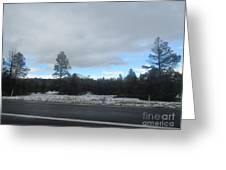 Arizona Mountain Landscape Greeting Card