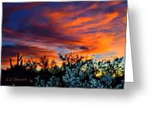 Arizona Sky Greeting Card