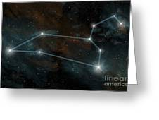 Artists Depiction Of The Constellation Greeting Card