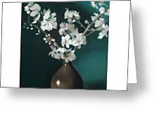 Australian Almond Blossom Greeting Card
