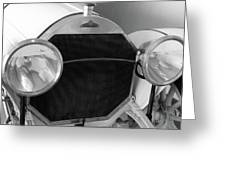 Automobile Of The Past Greeting Card