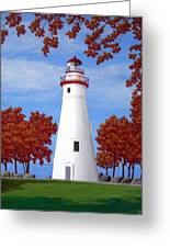 Autumn At Marblehead Greeting Card
