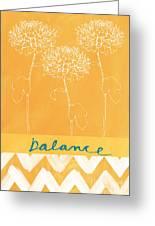Balance Greeting Card