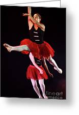 Ballet Performance  Greeting Card by Chen Leopold