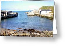 Ballintoy Harbour Greeting Card
