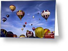 Balloon Fiesta Greeting Card