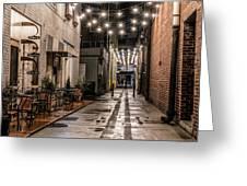 Bank Street Downtown Bristol Greeting Card