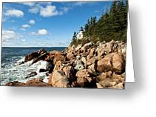 Bass Harbor Light Greeting Card