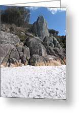 Bay Of Fires. Tasmania Greeting Card